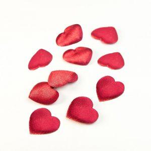 Röda hjärtan present